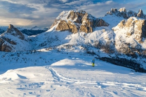 Cortina: Italy's most fashionable ski resort